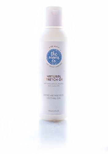 The Moms Co Natural Stretch Oil (100ml / 3.4 Fl. Oz.)