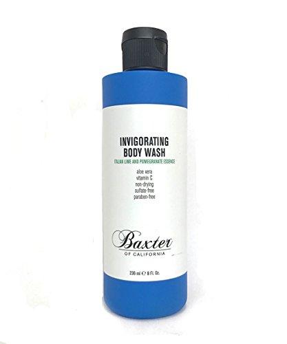 Baxter of California Invigorating Body Wash, Italian Lime & Pomegranate,8 fl oz.