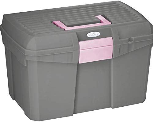 Reitsport Amesbichler Norton - Caja de limpieza para caballos, color gris y rosa: Amazon.es: Productos para mascotas
