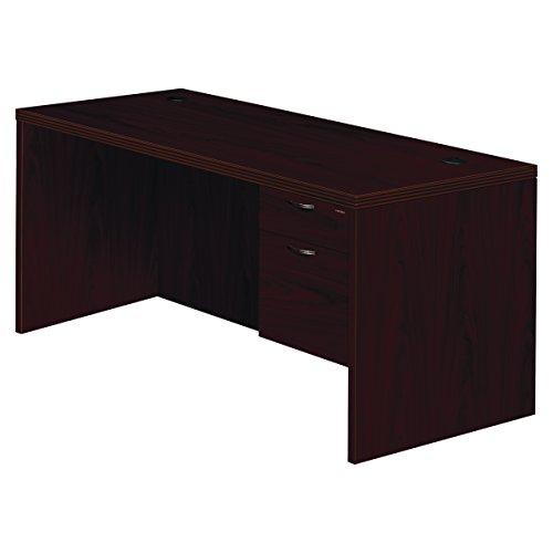 HON 11583RAFNN Valido 11500 Series Right Pedestal Desk, 66w x 30d x 29 1/2h, Mahogany