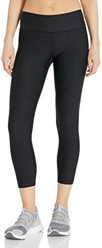 Women's Vanish Crop Pants, Black (001)/Metallic Iron, Large