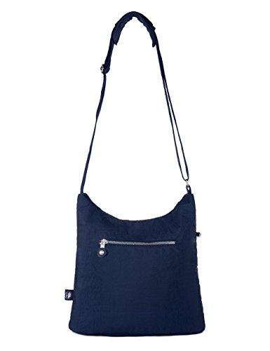 Oakarbo Nylon Multi Medium Crossbody Blue Bag Navy 1203 Pocket AAryqxwdgp