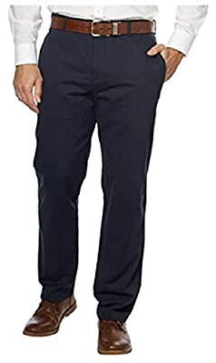 Calvin Klein Men's Lifestyle Chino Flat Front Straight Leg Pant
