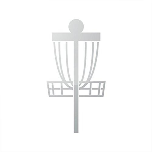 Metallic Frisbee Disc Golf Sticker Die Cut PDGA logo - (Pdga Disc)