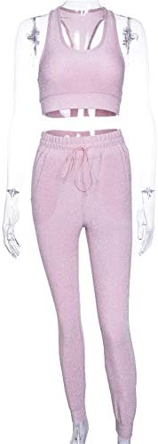 レディースジャージ上下セット ベスト女性シルバーシルクパンツスクールダンスフィットネススーツ (サイズ : S)