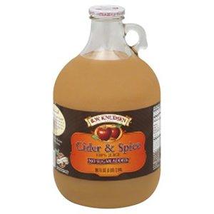 Cider Fruit Juice - R W Knudsen Apple Cider and Spice Juice, 96 Fluid Ounce - 6 per case.