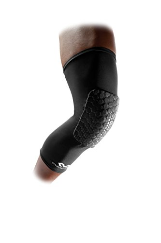 McDavid Pair Teflx Leg Sleeves, Large, Black