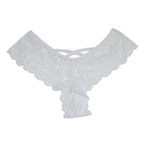 069e62e3a99b7 4 Pack Women Sexy Lace Thongs Bikini Panties Cheeky Lingerie Panties G- String