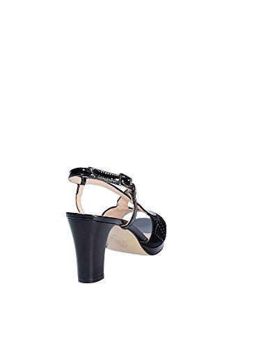 Femmes Shoes Sandales Grace Hauts À Noir E8102 Talons HqgzS