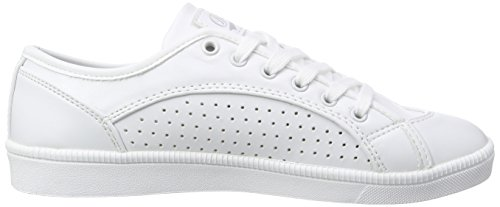 BUFFALO 100-18 Nappa Pu - Zapatillas Mujer Blanco - Weiß (WHITE 09)