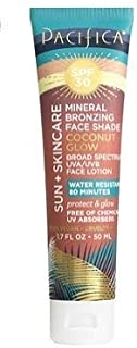 product image for PACIFICA Mineral Bronzing Face Shade Coconut Glow SPF 30 1.7oz, pack of 1