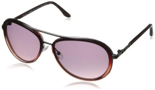 BCBG Women's Divine Aviator Sunglasses,Raspberry Fade,59 - Sunglasses Divine