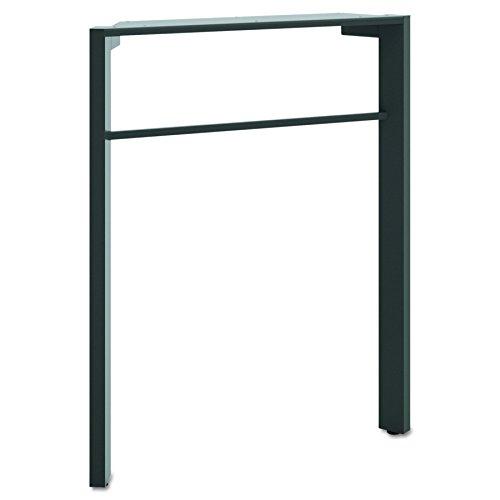 HON Manage Series Desk Leg, Ash Metallic Finish (HMNGDLEG)
