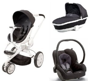 Amazon.com : Quinny Mood Stroller WITH Tukk Bassinet and Maxi Cosi ...