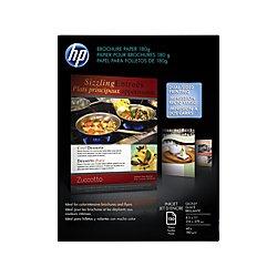 HP Brochure Paper, Glossy (150 Sheets, 8.5 x 11 Inches, 180 g) 92 Brightness (Hp Inkjet Brochure Paper)