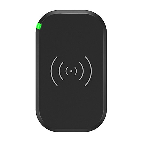 Wireless Charger, CHOETECH 3 Coils 7.5W Wireless Charging Pad for iPhone X/8/8 Plus, 10W Fast Charge Wireless Charger for Samsung Galaxy S9/S8/Note 8/S7/S7 Edge/S6 Edge Plus, 5W for Qi-enabled Phone