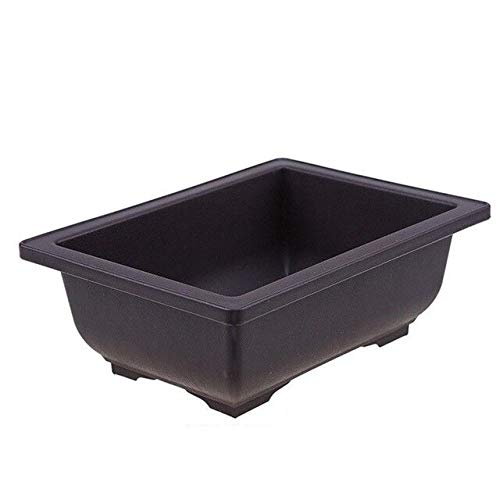 Bowl Planter - Wholesale Imitation Plastic Flower Pot Balcony Square Flower Bonsai Bowl Nursery Basin Pots Planter Rectangle Flower Pots