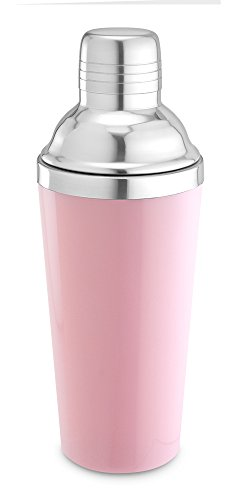 - Epic Products 8.5-Inch Double-Wall Shaker, 16-Ounce, Pink