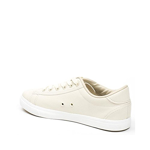 Ideal Shoes, Damen Sneaker Beige