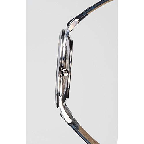 JACQUES LEMANS damklocka hängande klocka London läderarmband massivt rostfritt stål 1–1850ZC