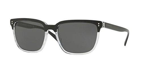 Burberry BE 4255 30295V TOP BLACK ON CRYSTAL - Square Burberry Sunglasses