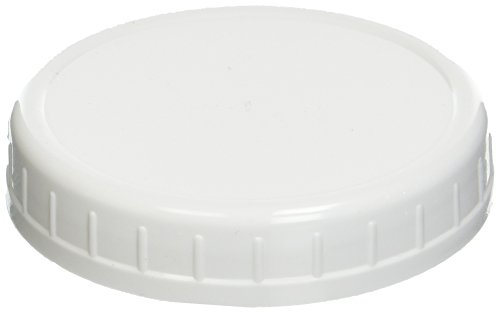 Ball Wide-Mouth Plastic Storage Caps 8-Count New (2 -