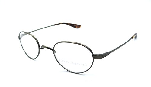 Barton Perreira RX Eyeglasses Frames Eton 44x22 Antique Gold Titanium - Barton Titanium Perreira