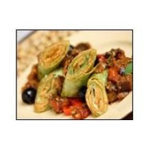 Mission Foods Spinach Herb Wrap, 12 inch - 12 per pack -- 6 packs per case.