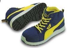 PUMA[プーマ]安全靴【Rider Blue Mid】(プーマセーフティハイカット タイプ)《012-No.63.351.0》 B0785RR4X5