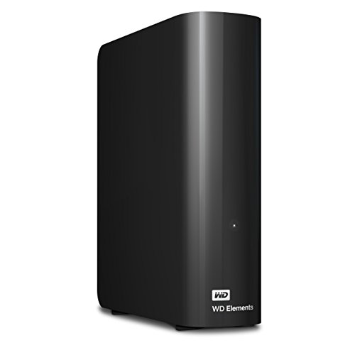(WD 4TB Elements Desktop Hard Drive - USB 3.0 -WDBWLG0040HBK-NESN (Renewed))