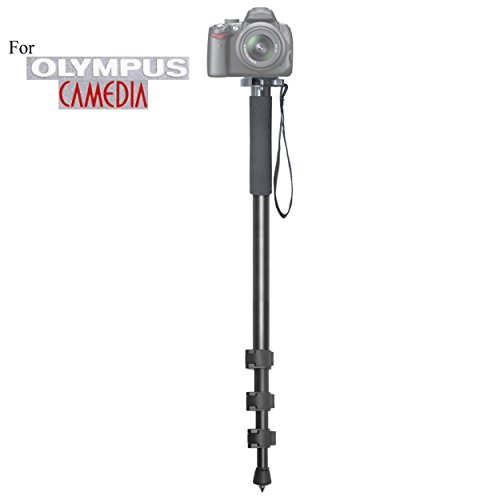 Versatile 72'' Monopod Camera Stick + Quick Release for Olympus C-5050 Zoom, C-5060 Wide Zoom, C-7070 Wide Zoom, C-750 UZ, C-8080 Wide Zoom Digital Cameras: Collapsible Mono pod, Mono-pod by IDU-PRO