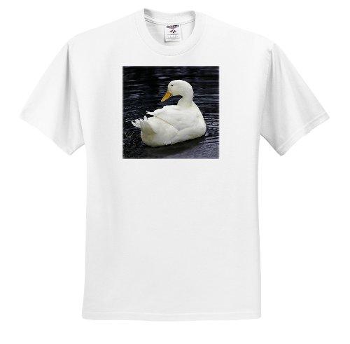 [Farm Animals - White Pekin Duck - T-Shirts - Youth T-Shirt Med(10-12) (ts_4232_13)] (White Pekin Duck)