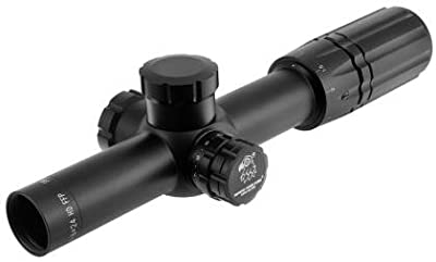 SWFA SS HD 1-6x24 Tactical 30mm Riflescope by SWFA