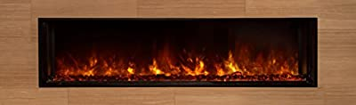 "Landscape FullView Series Electric Fireplace Size: 22.5"" H x 60"" W x 11.5"" D"