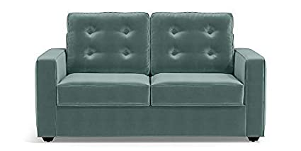 Admirable Lillyput Apex Tuffo Dusty Turquiose Valvet 2 Seater Sofa Set Download Free Architecture Designs Intelgarnamadebymaigaardcom