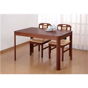 天然木ダイニングテーブル 長方形【代引不可】 B07BPGZWD8