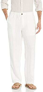 28 Palms Amazon Brand Men's Relaxed-Fit 100% Linen Pant with Drawst