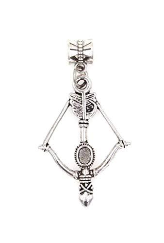 Crossbow European Bead Charm Dangling European Bead Charm (EU 89Ai)