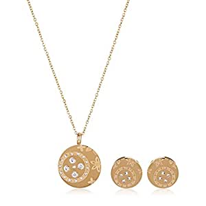 Target Fashion Women's Fashion Necklace and Earring Set