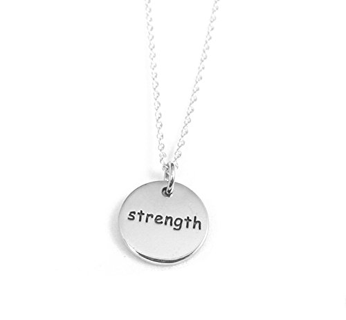 Strength Sterling Necklace Personal Talisman product image
