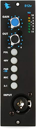 (API 512V - 500 Series Discrete Microphone Preamp)