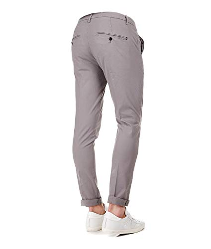 Dondup Up235cs0080ptd920 Homme Gris Pantalon Coton ggApxr