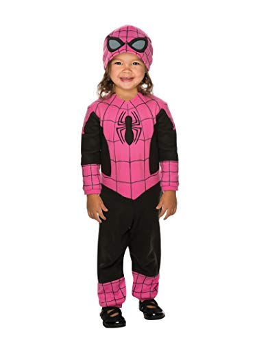 Homemade Halloween Costumes For Toddlers Girls - Rubie's Super Hero Adventures Pink Spidergirl
