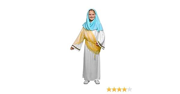 Yuppiyei Disfraz de la Virgen María para niñas: Amazon.es ...