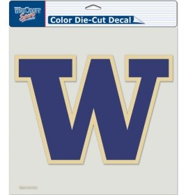 (WinCraft NCAA Washington Huskies Die-Cut Color Decal, 8