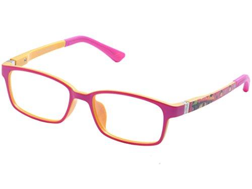 DEDING Mädchen Brillengestell Mehrfarbig bluewhite, Mehrfarbig