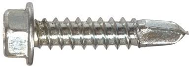 1-Pound The Hillman Group 47225 1//4-14-Inch x 1-1//4-Inch Washer Head Self Drilling Screw