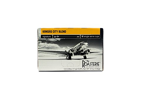 The Roasterie Air Roasted Coffee - Single Serve Selections - 12 count (Kansas City Blend)
