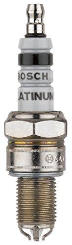 4 Electrode Spark Plugs - Bosch (4478) WGR8DQP Platinum + 4 Spark Plug, (Pack of 1)