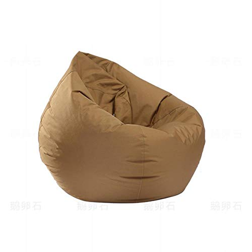 JYYA Sin Relleno Puff Sofa Kid Camping Party Puf Bed Gaming Puff Dormitorio Tatami Floor Seat Lazy Bean Bag Funda de Silla